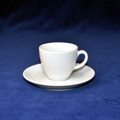 Cup 70 ml espresso and saucer 11 cm, Isabelle, Langenthal 1906