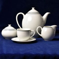 Coffee set for 6 pers., Thun 1794 Carlsbad porcelain, Opal 80446