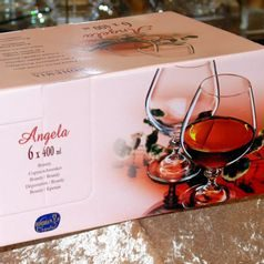 Angela 400 ml, Glass / Brandy / Cognac, 6 pcs., Bohemia Crystalex