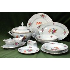 Dining set for 6 persons, Thun 1794 Carlsbad porcelain