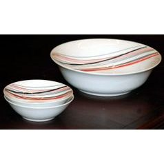 Compot set for 6 persons, Thun 1794 Carlsbad porcelain, SYLVIE 80382