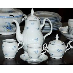 Coffee set for 6 persons, Thun 1794 Carlsbad porcelain