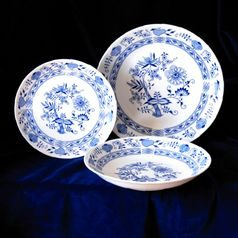 Plate set for 4 persons, Henrietta, Thun 1794 Carlsbad porcelain