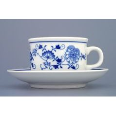 Cup and saucer Ben M 0,23 l / 15,2 cm, Original Blue Onion Pattern