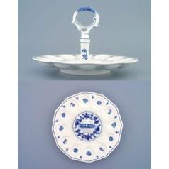Party egg tray with key 24,3 cm, Original Blue Onion Pattern