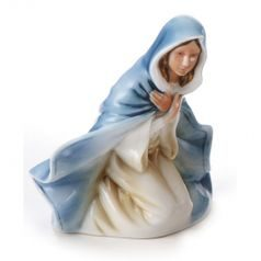 Divinity nativity fig. Mary h=10,5cm, Porcelain FRANZ