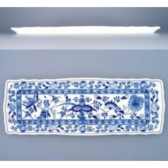 Sandwich tray square 45 x 16 cm, Original Blue Onion Pattern