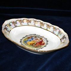 Bread basket 36 cm, The Three Graces  plus  gold, Frederyka Carlsbad