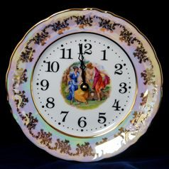 The Three Graces: Clock Plate wall 24 cm, Frederyka Carlsbad