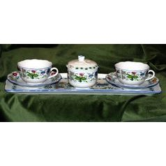 Friendly Tea set for 2 pers., NEW! COLOURED ONION PATTERN