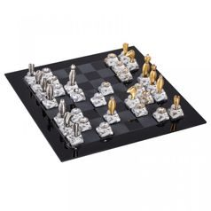 Royal Chess 250 x 250 mm, Crystal Gifts and Decoration PRECIOSA