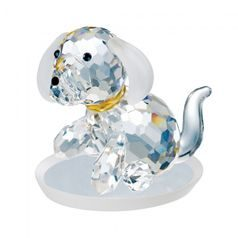 Dog 36 x 40 mm, Crystal Gifts and Decoration PRECIOSA