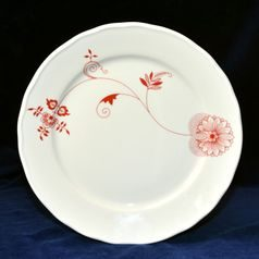 Plate dining 26 cm, Red Onion Pattern ECO on ivory, Cesky porcelan a.s.