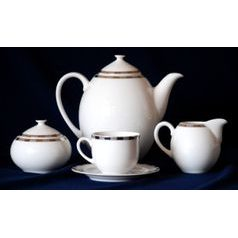 Coffee set for 6 persons, Thun 1794 Carlsbad porcelain, OPAL 84032