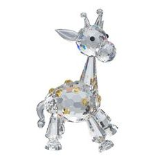 Baby Giraffe 82 x 50 mm, Crystal Gifts and Decoration PRECIOSA