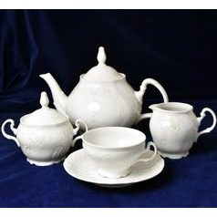 Frost no line: Tea set for 6 pers., Thun 1794 Carlsbad porcelain, Bernadotte