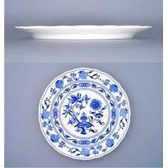 Plate club (pizza) 30 cm, Original Blue Onion Pattern