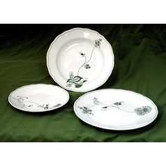 Plate set for 6 persons, Eco green, Cesky porcelan a.s.