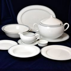 Dining set for 6 persons, Thun 1794 Carlsbad porcelain, OPAL 80446