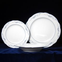 Plate set for 6 persons (18 Pcs), Desiree 44935, Seltmann Porcelain