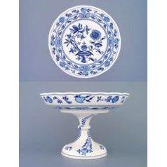Bowl on stand 26cm, Original Blue Onion