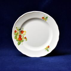Plate dessert 19 cm, strawberry, Cesky porcelan a.s.