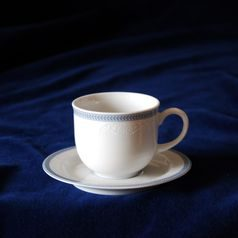 Mocca cup and saucer 110 ml, Thun 1794 Carlsbad porcelain, OPAL 80136