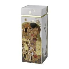 Box 20 cm, Metal, The Kiss, G. Klimt, Goebel