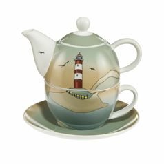 Home Accessories: Lighthouse - Tea for One 0,35 l, Goebel porcelain