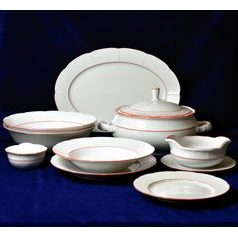 70477: Dining set for 6 pers., Thun 1794 Carlsbad porcelain, Natalie