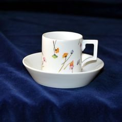 Cup espresso 80 ml  plus  saucer 110 mm, Meissen porcelain