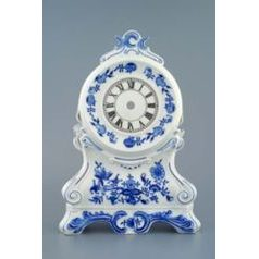 Hearthstone clocks with roses 28 cm, Original Blue Onion Pattern