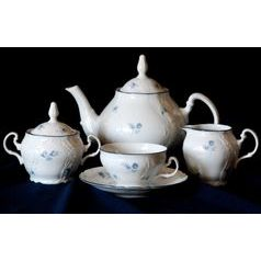 Tea set for 6 persons, Thun 1794 Carlsbad porcelain
