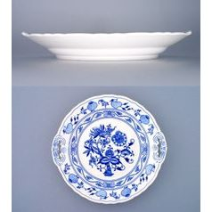 Cake plate with handles 28 cm, Original Blue Onion Pattern