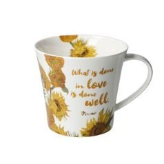 Artist Mug What is done 0,35 l, Porcelain, V. van Gogh, Goebel Artis Orbis