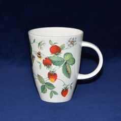 Apline Strawberry: Mug 400 ml, English Fine Bone China, Roy Kirkham