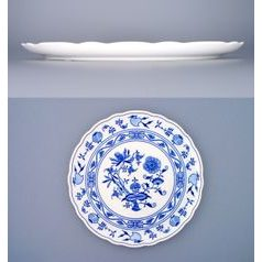 Cake plate 31 cm, Original Blue Onion Pattern