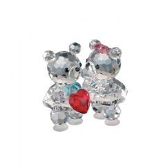Baby Bears in Love 35 x 36 mm, Crystal Gifts and Decoration PRECIOSA