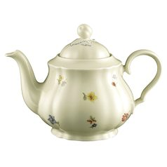 Tea pot for 6 persons 1,10 l, Marie-Luise 44714, Seltmann Porcelain