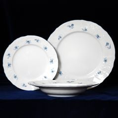 Plate set for 6 persons, Thun 1794 Carlsbad porcelain