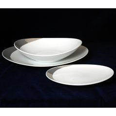 26805: Plate set for 6 persons, Thun 1794 Carlsbad porcelain, Loos