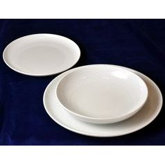 Plate set for 6 pers., Thun 1794 Carlsbad porcelain, TOM crocodile