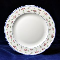 Plate dining 25 cm, Thun 1794 Carlsbad porcelain, Rose 80283