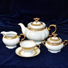 Tea set for 6 pers., Thun 1794 Carlsbad porcelain,Marie Louise 88003