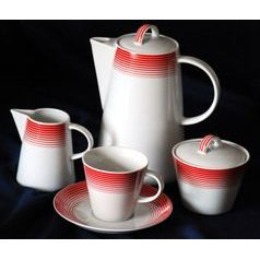 Coffee set for 6 persons, Thun 1794 Carlsbad porcelain, TOM 29954a