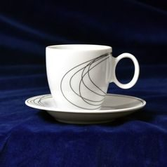 Fututre 30158: Cup 160 ml  plus  saucer 145 mm, Thun 1794 Carlsbad porcelain
