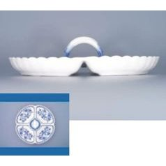 4-Compartment dish 32 cm, Original Blue Onion Pattern