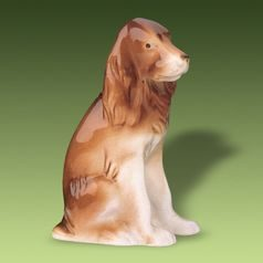 Cocker Spaniel Dog, 9 x 6 x 13,5 cm, Porcelain Figures Duchcov