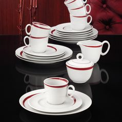 Coffee set for 6 persons (20 Pcs), Paso Bossa Nova, Seltmann Porcelain