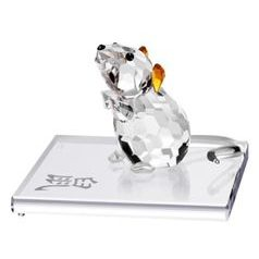 Rat (Chinese Zodiac) 50 x 38 mm, Crystal Gifts and Decoration PRECIOSA
